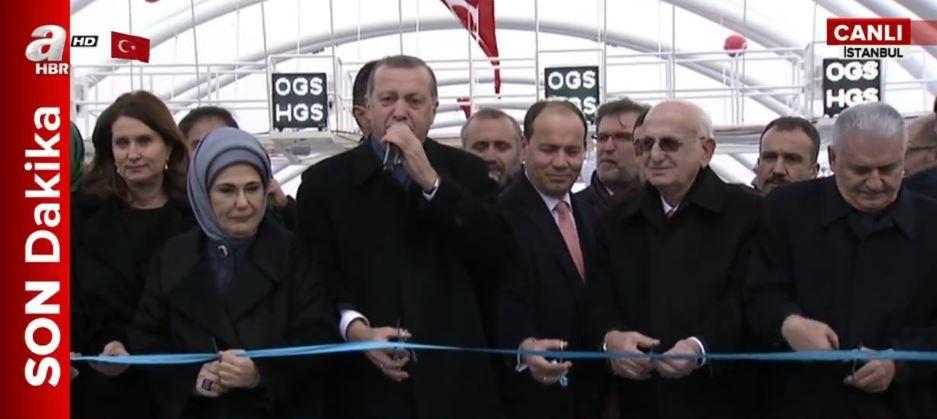 Avrasya Tüneli açılışı